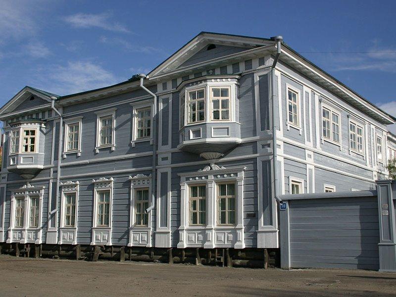 Усадьба Волконских - Иркутск