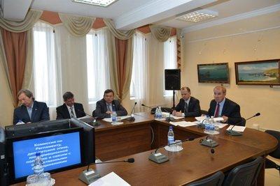 Состоялось заседание комиссии по Регламенту, депутатской этике, информационной политике и связям с общественными объединениями