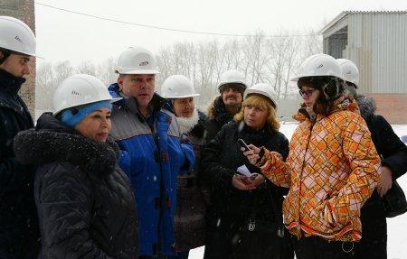 На Топкинском цементном заводе состоялся пресс-тур для корреспондентов региональных и районных СМИ