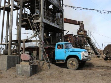 Ангарский асфальтовый завод готов к пуску производства