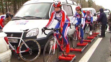 В Ангарске проходит велозаезд «Учащиеся России»