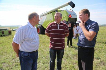 В Иркутской области началась уборочная кампания