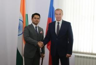 Сергей Левченко: Иркутская область и Республика Индия планируют расширять сферы сотрудничества