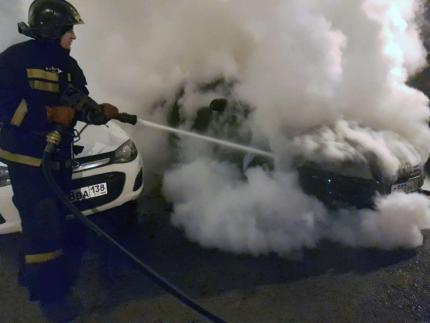 Пламя под капотом: 9 пожаров авто произошли в Иркутской области