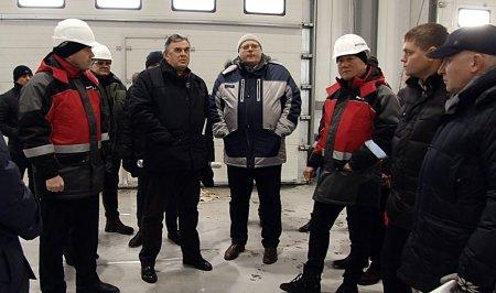 Замминистра природных ресурсов и экологии России Сергей Ястребов посетил площадку реконструкции правобережных КОС в Иркутске