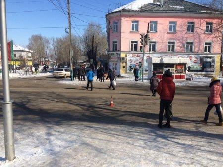 В Черемхово полиция ведет розыск водителя, сбившего ребенка на пешеходном переходе
