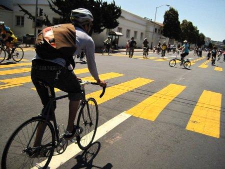 В Ангарске полицейские призывают велосипедистов к соблюдению правил дорожного движения