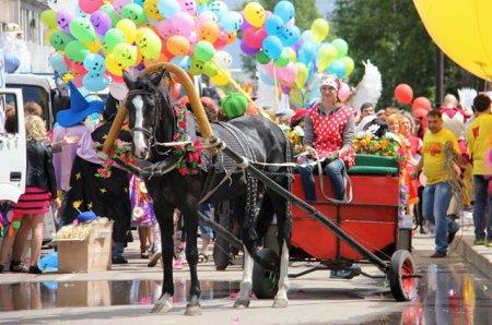 карнавальное шествие в ангарске
