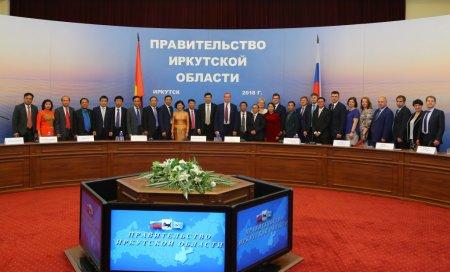 Меморандум о намерениях установления отношений между Иркутской областью и вьетнамской провинцией Куангнинь подписан сегодня в Правительстве региона