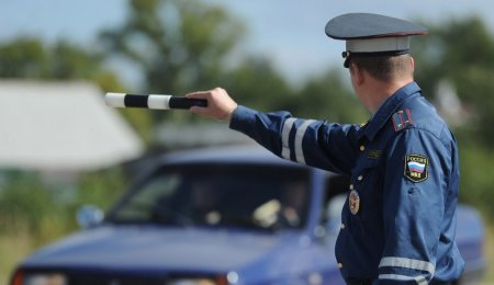 В Тулуне в течение часа полицейские установили скрывшегося с места ДТП водителя
