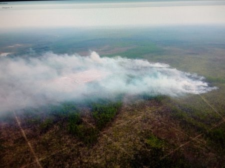 Впервые в текущем пожароопасном сезоне в Иркутской области при ликвидации лесных пожаров применен способ искусственного вызывания осадков