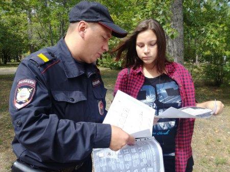 В Шелеховском районе полицейские проводят профилактические рейды