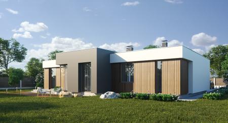 Достоинства и недостатки домов с плоской крышей