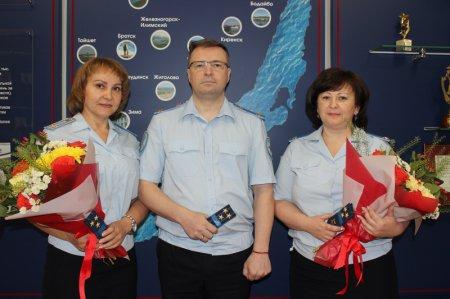 Трем руководителям следственных подразделений вручены очередные звания полковников юстиции
