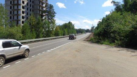 В Иркутском районе завершился ремонт дороги «Подъезд к поселку индивидуальной застройки Березовый»