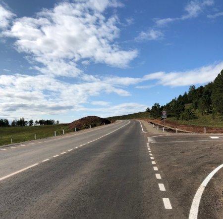 В Осинском районе завершен ремонт автодороги Иркутск – Оса – Усть-Уда