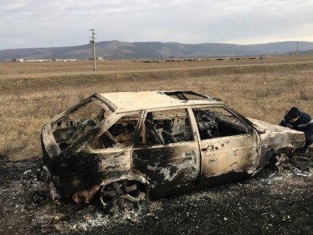 В Иркутской области полицейские задержали подозреваемого в поджоге частного домовладения