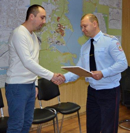 В Братске поощрили создателя группы в социальных сетях за плодотворное сотрудничество с полицией