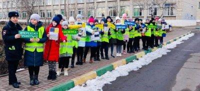 В Белгородской области юные инспекторы движения популяризируют идеи дорожной безопасности