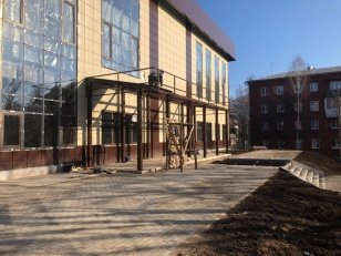 В посёлке Молодёжный Иркутского района заканчивается строительство Дома культуры - Иркутская область. Официальный портал