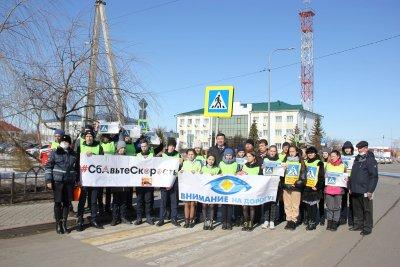 Сельские активисты в Тюменской области призвали автомобилистов к безопасному вождению