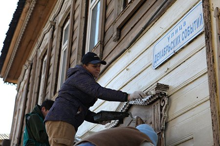 12 деревянных домов привели в порядок в рамках акции «Фасадник» в Иркутске