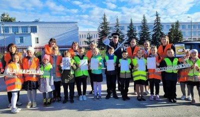В Липецкой области родители и педагоги, школьники и полицейские «лайками» благодарят законопослушных автомобилистов