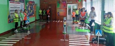 В сельском поселении Новгородской области дан старт работе центра по обучению детей навыкам ориентирования в дорожной обстановке